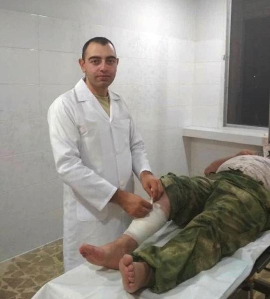 Старший лейтенант Давид Черкизян