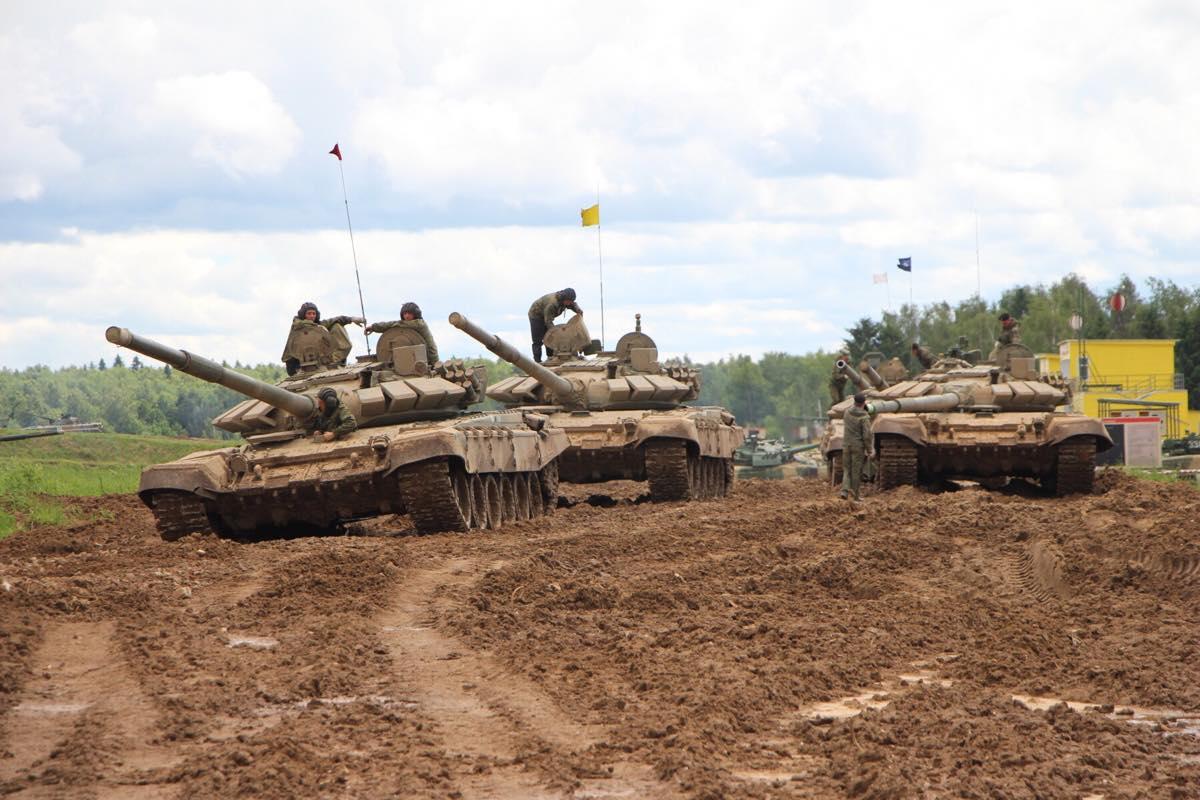Боевые танки Т-72Б3