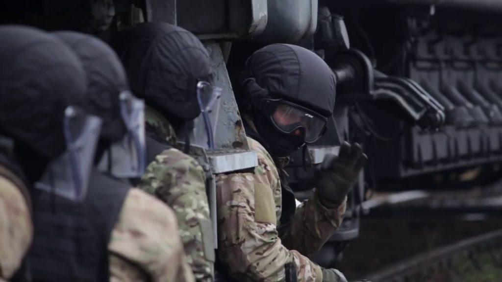актико-специальное учение по противодействию терроризму