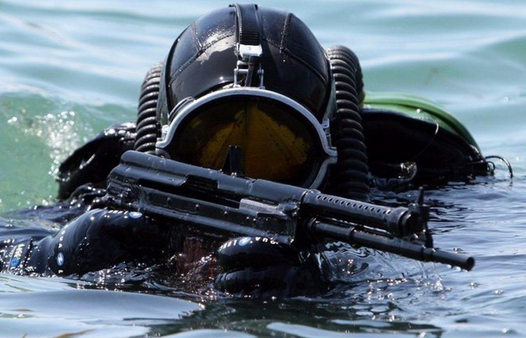 Боевые пловцы Черноморского флота