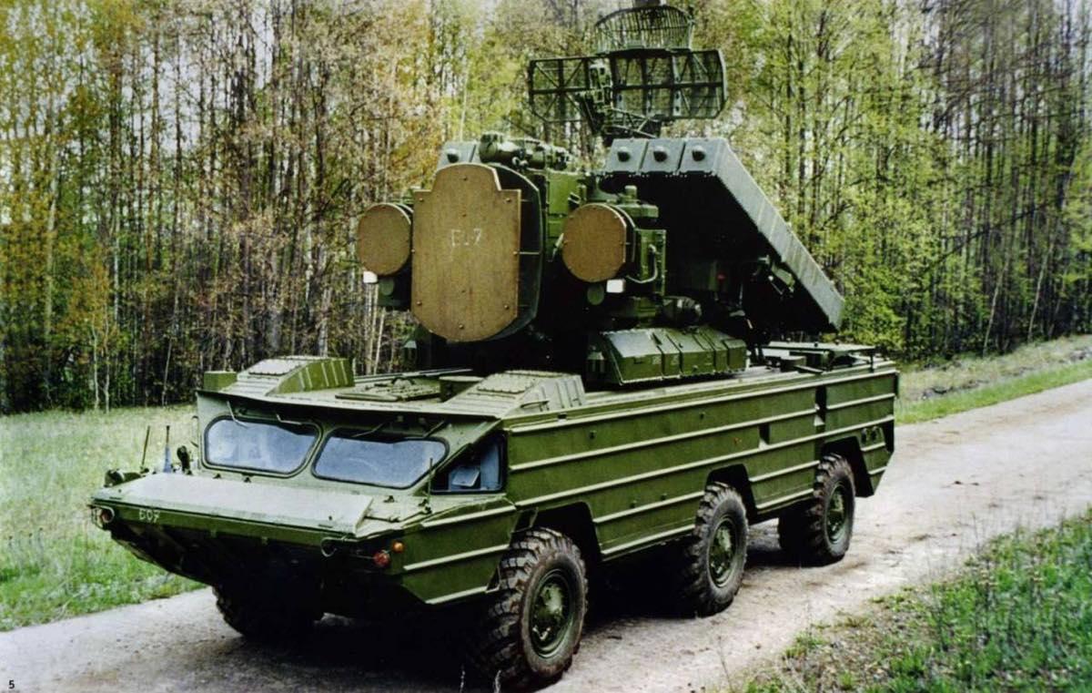 зенитные ракетные комплексы «Оса»