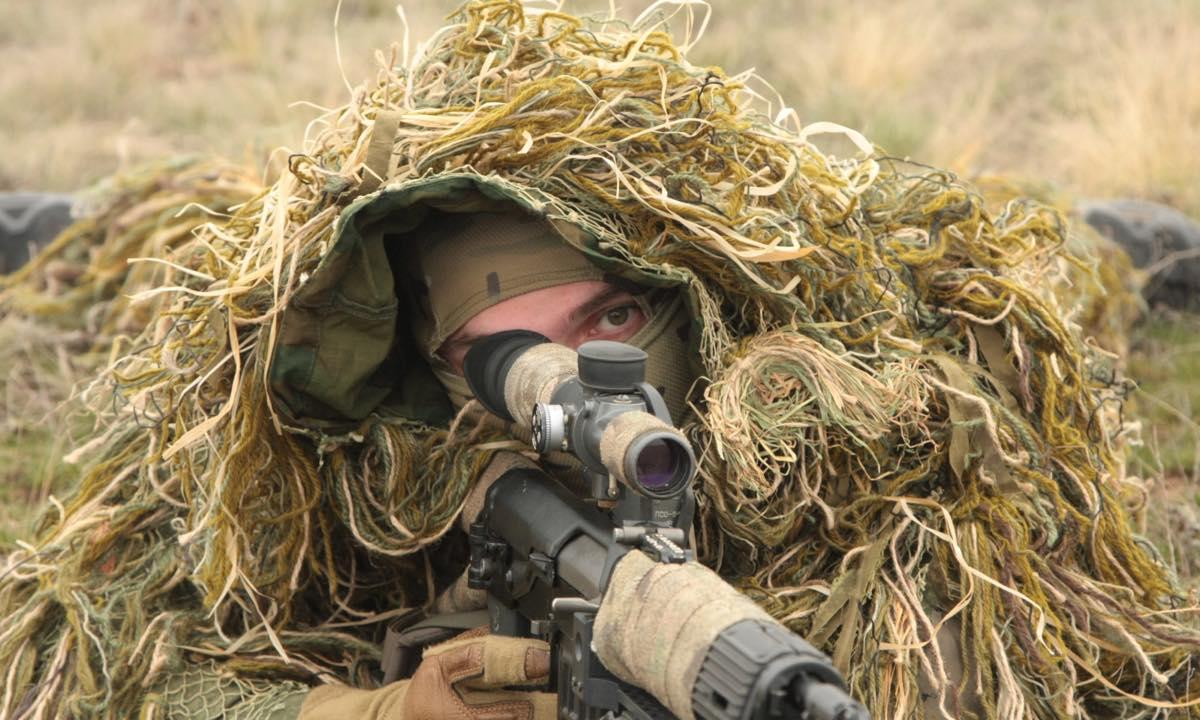 Российские снайперы в Таджикистане
