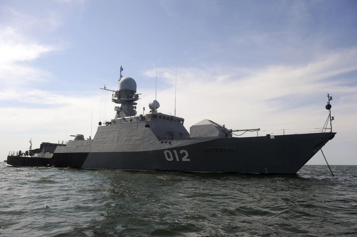 Корабли Каспийской Флотилии