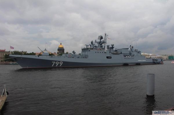 Фрегат«Адмирал Макаров»