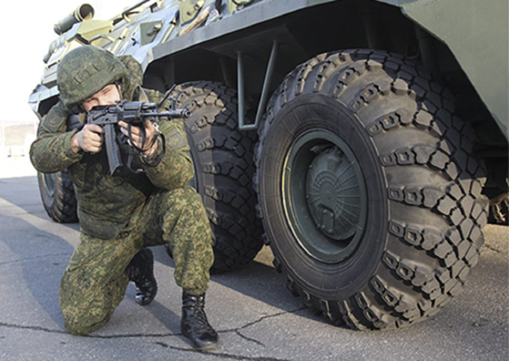Морские пехотинцы СФ предотвратили диверсию на аэродроме