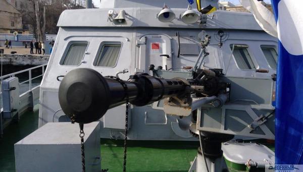 Противодиверсионный катер проекта 21980 Грачонок