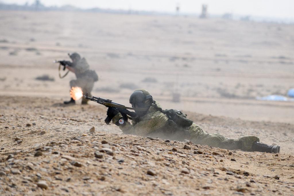 Российские и египетские десантники уничтожили станцию радиолокационного подавления