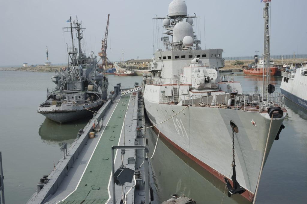 пункта базирования кораблей Каспийской флотилии