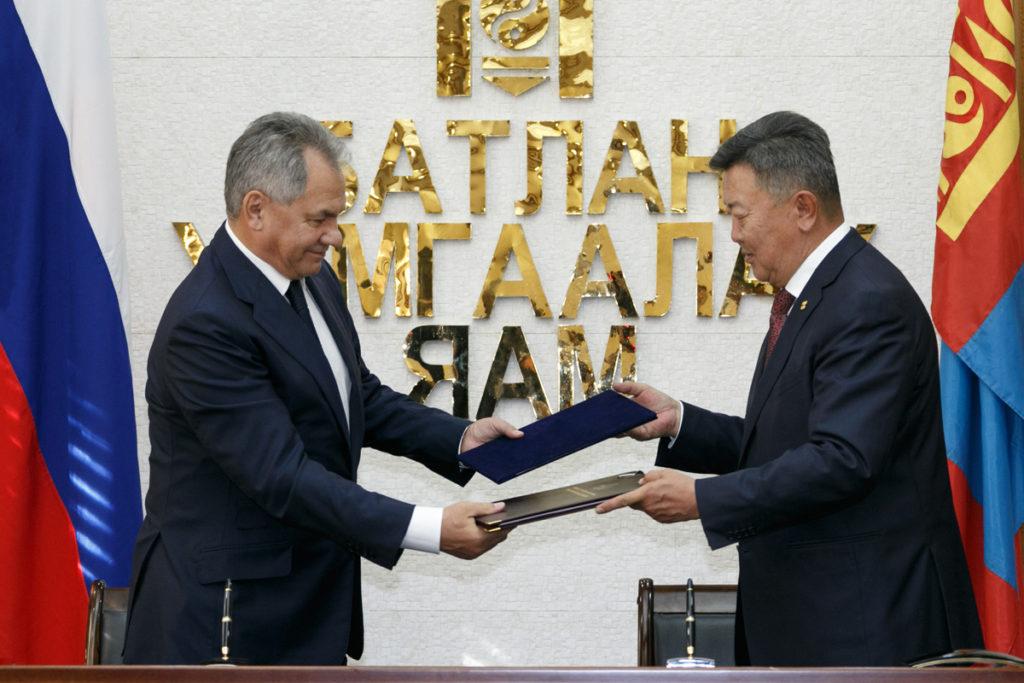 Сергей Шойгу прибыл с визитом в Улан-Батор