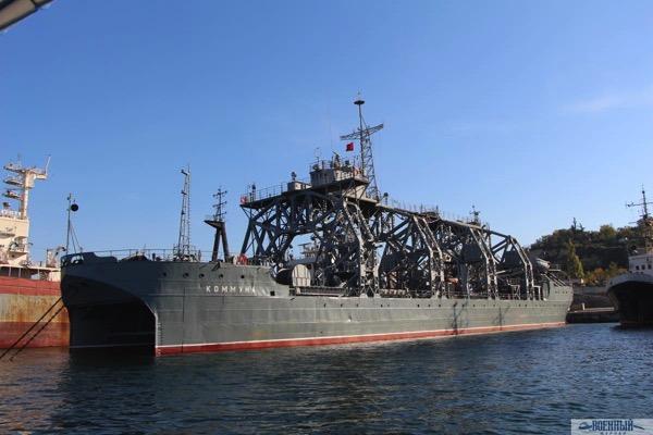 Спасательное судно Черноморского флота «Коммуна»