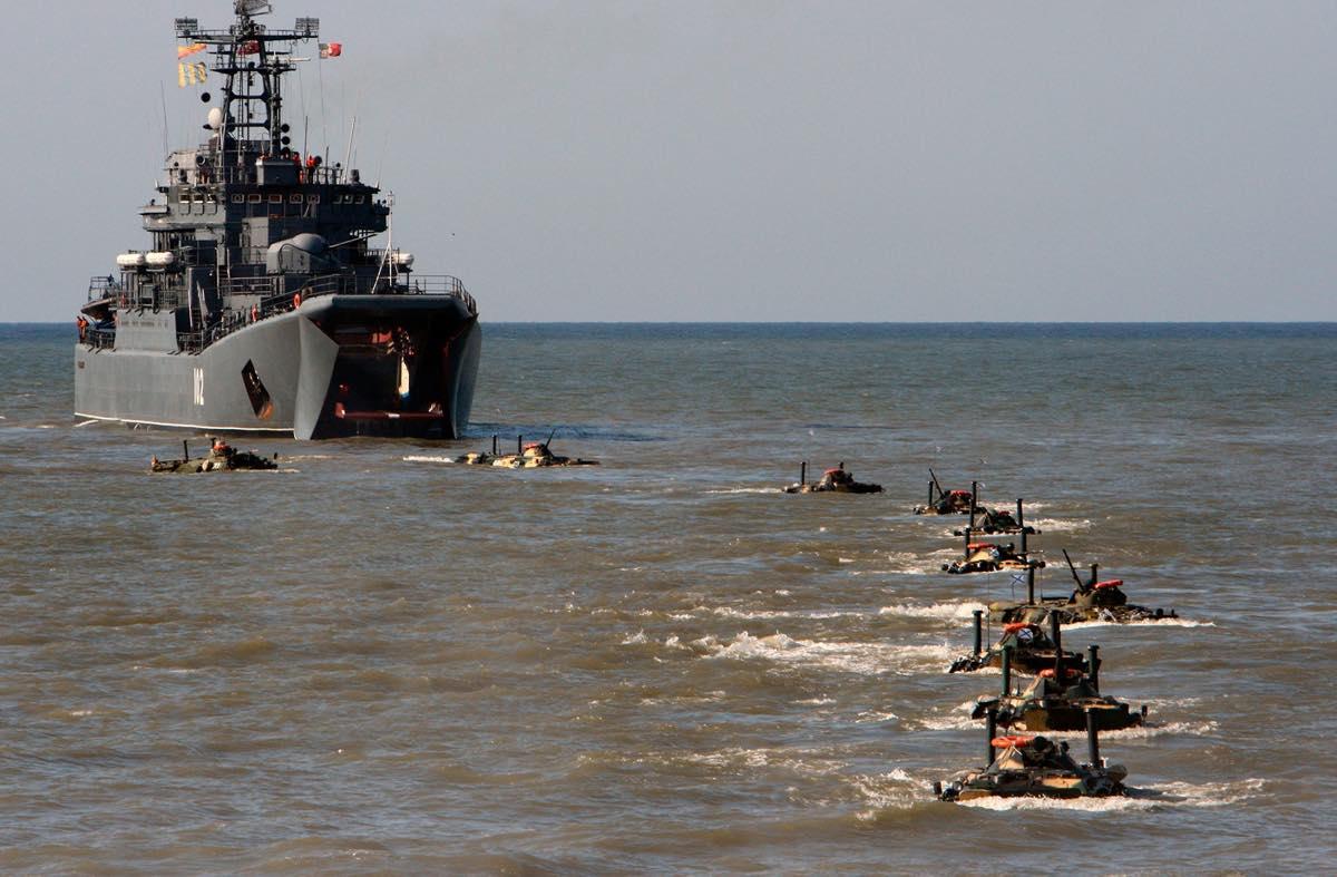 Морская пехота ЮВО