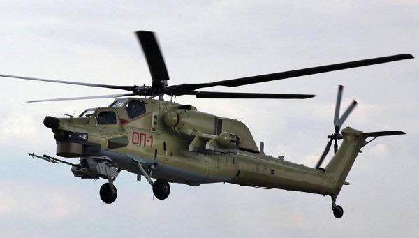 вертолет Ми-28УБ
