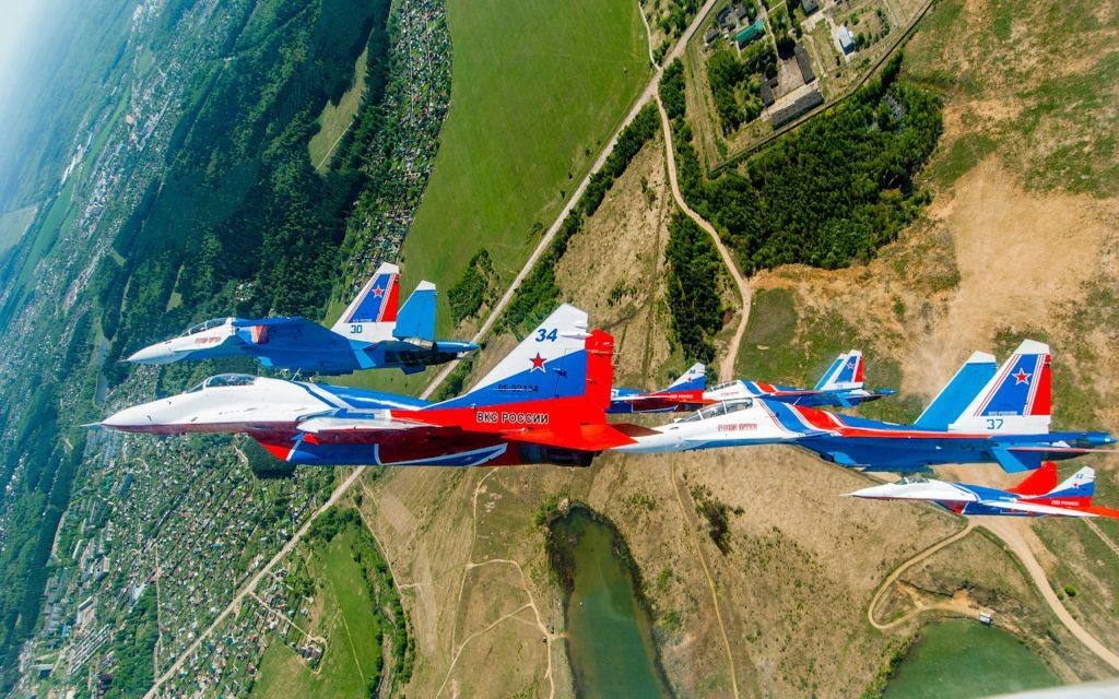 группа высшего пилотажа «Русские Витязи»