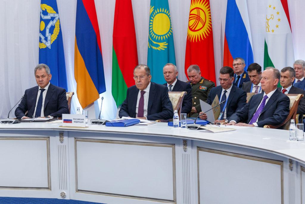 Официальный визит Министра обороны Российской Федерации генерала армии Сергея Шойгу в Астану