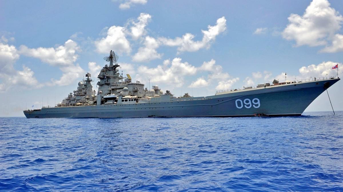 Тяжелый атомный ракетный крейсер СФ «Пётр Великий»
