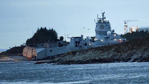 фрегат KNM Helge Ingstad