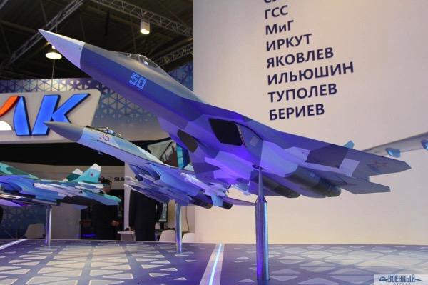 Модель Су-57