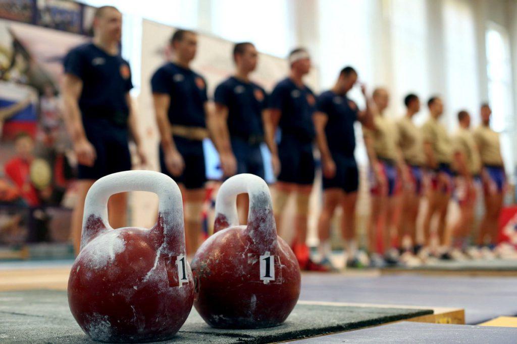 чемпионат ВС РФ по гиревому спорту