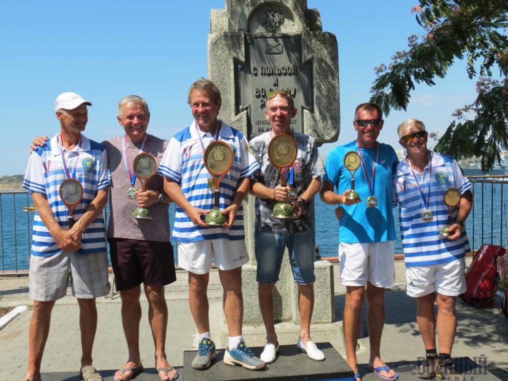 Победители и призеры теннисного турнира «Большая Бескозырка»