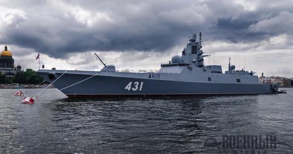 Фрегат проекта 22350  Адмирал Касатонов